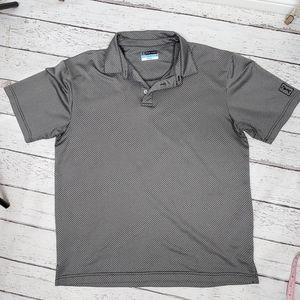 PGA tour Golf Polo Shirt Airflux size Large